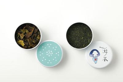 心游茶と茶缶